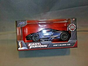Fast & Furious Shaw's McLaren 7Z05 Collector Car Die-Cast 1:32 Scale Must See