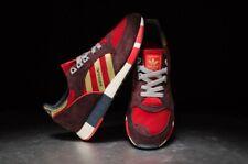 Adidas Originals Boston Super Power Red Gold UK 8 OG Retro Casuals Gazelle Samba