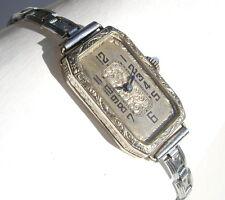 Vintage Beuchat Antique Ladies GOLD mechanical wristwatch