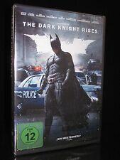 DVD Batman 3-The Dark Knight Rises-Christian Bale + Gary Oldman-Action NUOVO