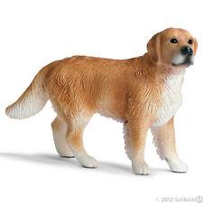 *New* Schleich 16377 Golden Retriever Dog Male Canine - Retired