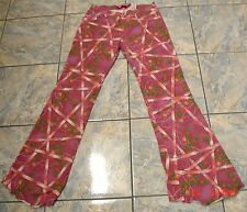 VOYAGE PASSION SIGNATURE STRETCH SWAROVSKI CRYSTAL CRAFT JEANS PANTS  31 ITALY