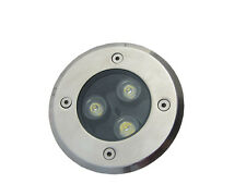 10 x 3W DC12v LED Inground Light Garden Path Spot Lamp Waterproof Warm White