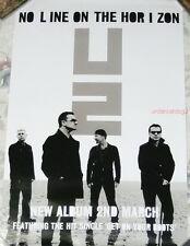 U2 No Line On The Horizon 2009 Taiwan Promo Poster