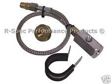 Oil Temp Oil Pressure Gauge Sensor Sender Remote Adaptor Kit For Subaru Impreza