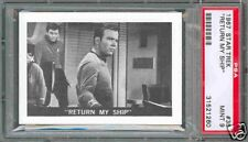 1967 LEAF STAR TREK GUM CARD #35 RETURN MY SHIP PSA 9 POP 1 OF 2