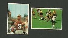 West Germany Field Hockey Track Olimpiadi Olympics 1976 Sticker Cards from Italy