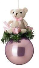 Teddy Bear in Rosa Bauble Ornamento Albero di Natale ideale 1st