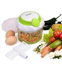 Pull Manual Hand Held Food Chopper / Mincer / Mixer / Blender 900 Ml Capacity Ca