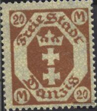 Europe Gdansk 126y Nuevo 1923 Gran Escudo De Armas