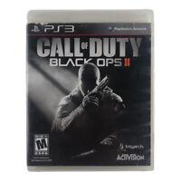 Call of Duty: Black Ops II (PlayStation 3, 2012) Complete w/Manual CIB