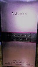 Victor Manuelle Miami Pour Femme Spray for Women EDP 3.3 oz/100 ml, New In Box