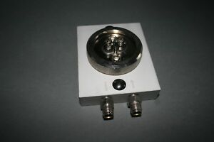 """CP7980  AGILENT CHROMPACK Gas Clean Connecting Unit for 1 filter (1/4"""") - LAB"""