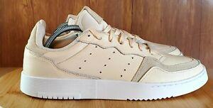 adidas Originals Supercourt Mens Ecru Tint Men's Size 9.5 Sneakers EE6030