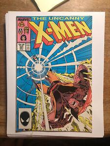 Uncanny X-Men #221 1987 Wolverine Marauders Key 1st app of Mister Sinister