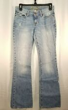 Abercrombie Juniors Jeans  Madison  Distressed Torn Light Wash