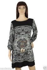 Unbranded Paisley Regular Size Viscose Dresses for Women