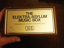1982 Elektra Asylum Records Music Box Eagles,Joni Mitchell,Warren Zevon,Geffen