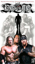 WWF King of the Ring 2002 VHS Undertaker The Rock Ric Flair Brock Lesnar RVD