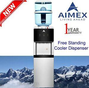 Aimex Water Cooler Dispenser Hot Cold Ambient Tap Filter Purifier 20L Bottle