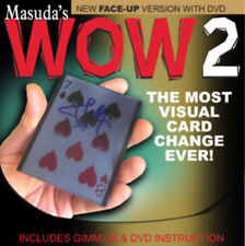 Wow 2.0 (Face Up Version and DVD) by Masuda -Magic Trick