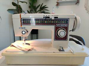 Toyota Atlantis Model 602 Multi Stitch Embroidery Heavy Duty Sewing Machine