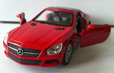 SL 500 Mercedes/ Rückzugmotor / Druckgussmodel 1:38 OVP Welly