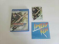 Brand New Sealed Dariusburst CS Chronicle Saviours LRG Playstation PS Vita PSV