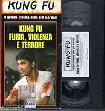 KUNG FU Furia , Violenza e Terrore (1973) - VHS Fabbri editori Video