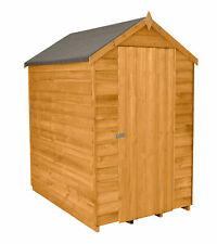 Forest ODA46NWHD Wooden 6 x 4ft Overlap Windowless Apex Shed