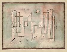 Paul Klee Reproduction: Foundation (Grundfeste) - Fine Art Print