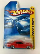 Hot Wheels 69 Dodge Coronet Super Bee 2008 New Models Red New