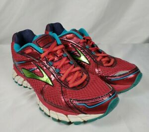 Brooks Adrenaline GTS 15 Women's Athletic Running Shoes DNA Red Size 8.5 8 1/2