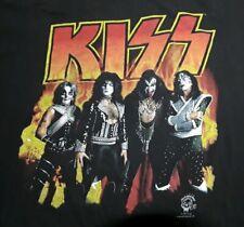 Vintage 1996 Kiss Alive Worldwide Tour Concert Double Sided T Shirt sz XL ~ EUC
