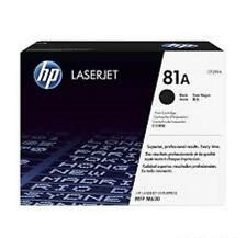 42 Virgin Empty Genuine HP 81A Laser Toner Cartridge for Refilling (3 bxs of 14)