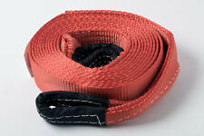 """2""""x20' Red 20000lb 9T 2x20 Auto SUV Truck Tow Strap winch rope off-road recover"""