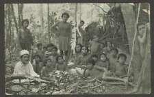 Brazil Postcard Indios Botucudos Rio Doce E Do Espirito Santo