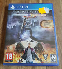 SAINTS ROW IV 4 RE ELECTED + GAT OUT OF HELL Jeu PS4 Playstation 4 Neuf Blister