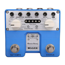 Mooer Reverie Chorus Twin Series Digital Chorus Guitar Effects Stompbox Pedal