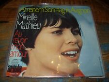 "MIREILLE MATHIEU au revoir mon amour ( world music ) 7""/45 picture sleeve"