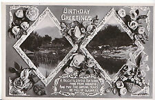 Greeting Postcard - Birthday Greetings   A6089
