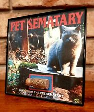 Pet Sematary Movie Prop Relic Location Piece Framed Soil Display