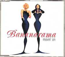 Bananarama - Movin' On - CDM - 1992 - Synth-Pop 4TR Stock Waterman READ DESCRIPT