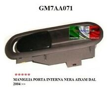MANIGLIA APERTURA PORTA INTERNA NERA DX/SX AIXAM DAL 2004 IN POI GM7AA071
