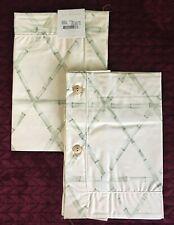 Yves Delorme Bamboo Shams 12x16 Egyptian Cotton Unused