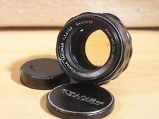 Pentax M42 Screw SMC Takumar 50mm F1.4 Super- Multi-Coated Manual Lens