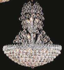 Palace Firework 20 light Crystal Chandeliers lighting Chrome  crystal light