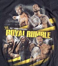 ROYAL RUMBLE 2012 T SHIRT XL Wrestling WW Smackdown Raw St Louis