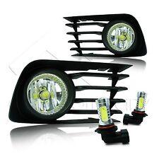 2006-2009 Toyota Prius Fog Lights w/Wiring Kit & COB LED Bulbs - Clear