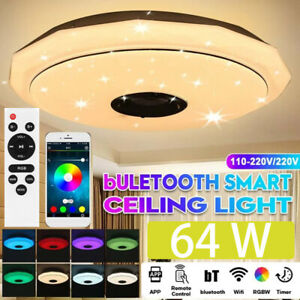 Dimmbar RGB LED Sternenhimmel Deckenlampe Musik bluetooth Lautsprecher Remote